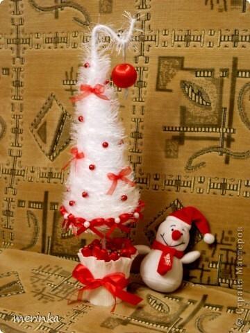 Интерьер, Поделка, изделие: Кокетливая и пушистая Новый год, Рождество. Фото 1