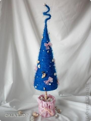 """Декор предметов, Открытка, Поделка, изделие Декупаж, Шитьё: """"Праздничный хоровод"""" Новый год. Фото 1"""