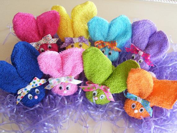 кролики-полотенца
