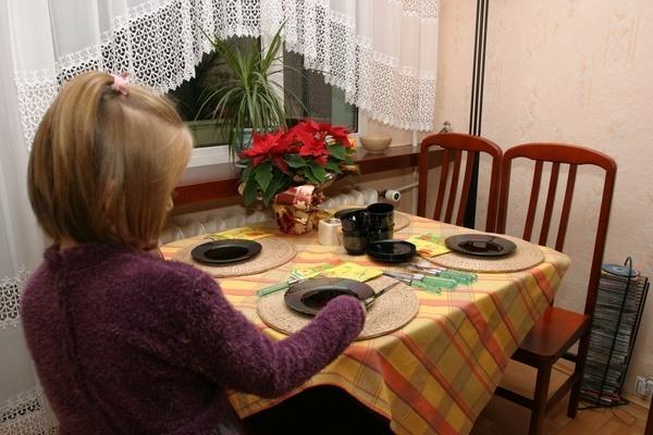 Мама для мам: Учим детей правилам поведения за столом