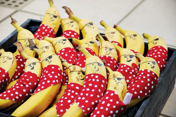 бананы пираты