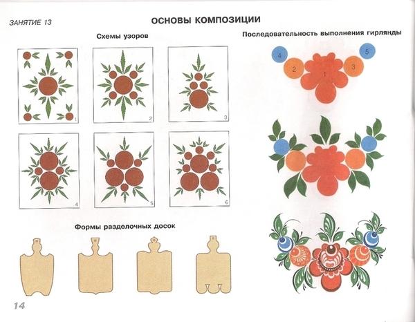 Городецкая роспись0015 (700x543, 216Kb)