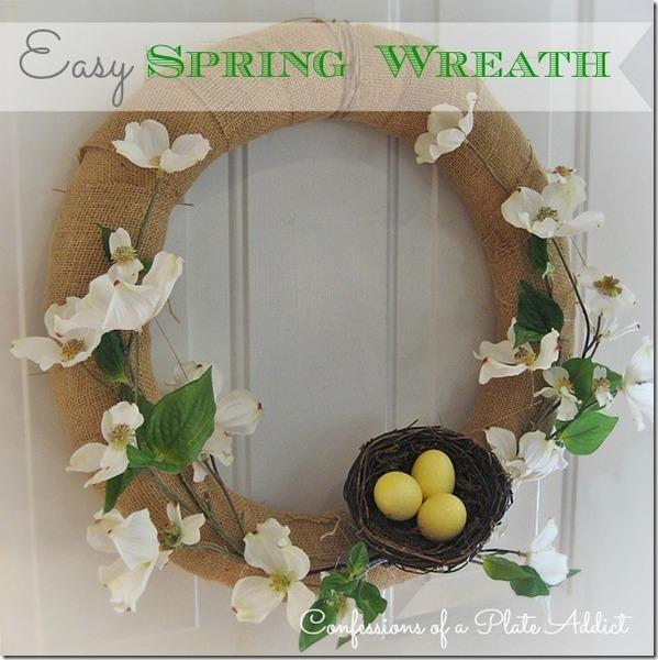 Признания PLATE ADDICT Easy венок весна